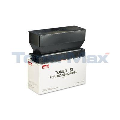 MITA 5590 6090 COPIER TONER BLACK